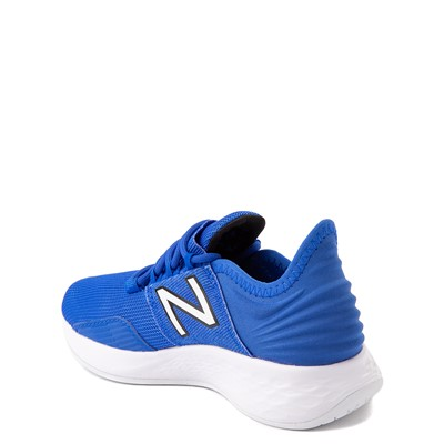 Alternate view of New Balance Fresh Foam Roav Athletic Shoe - Little Kid - Royal Blue