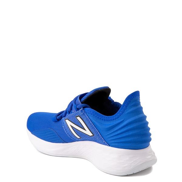 alternate view New Balance Fresh Foam Roav Athletic Shoe - Big Kid - Royal BlueALT1