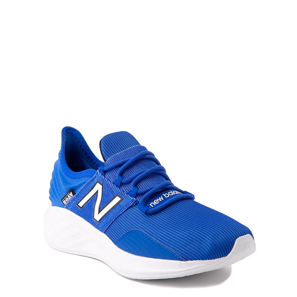 alternate view New Balance Fresh Foam Roav Athletic Shoe - Big Kid - Royal BlueALT5