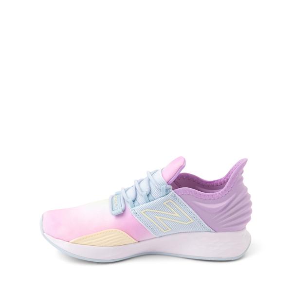 alternate view New Balance Fresh Foam Roav Athletic Shoe - Little Kid - Tie DyeALT1