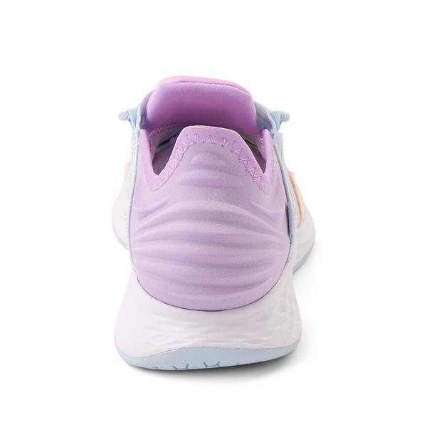 alternate view New Balance Fresh Foam Roav Athletic Shoe - Little Kid - Tie DyeALT4