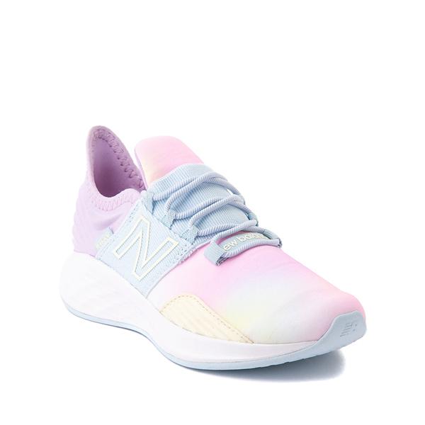 alternate view New Balance Fresh Foam Roav Athletic Shoe - Little Kid - Tie DyeALT5