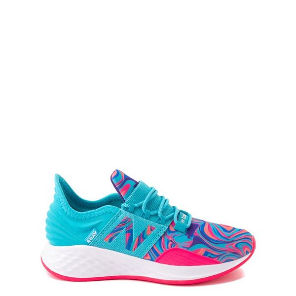 New Balance Fresh Foam Roav Athletic Shoe - Little Kid - Aqua / Swirl