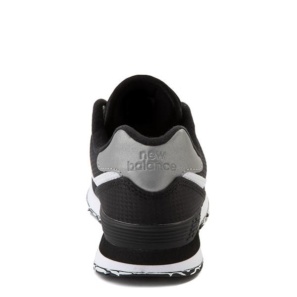 alternate view New Balance 574 Athletic Shoe - Little Kid - Black / SilverALT2B