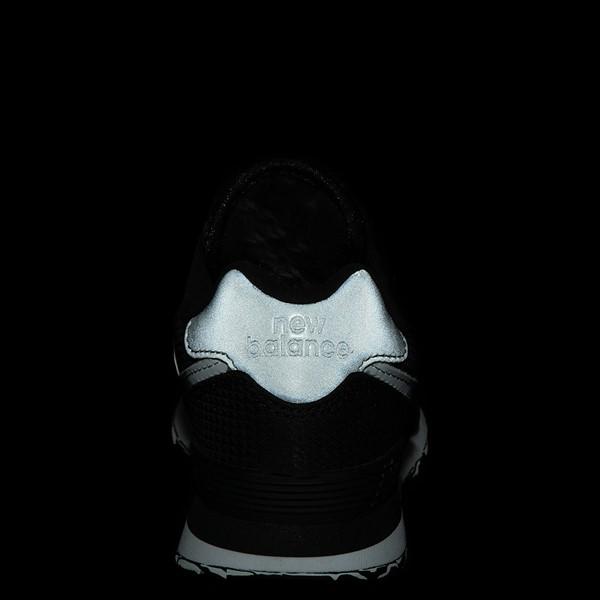alternate view New Balance 574 Athletic Shoe - Little Kid - Black / SilverALT2C