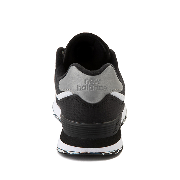 alternate view New Balance 574 Athletic Shoe - Little Kid - Black / SilverALT4