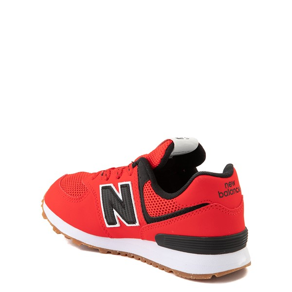 alternate view New Balance 574 Athletic Shoe - Little Kid - Red / BlackALT1