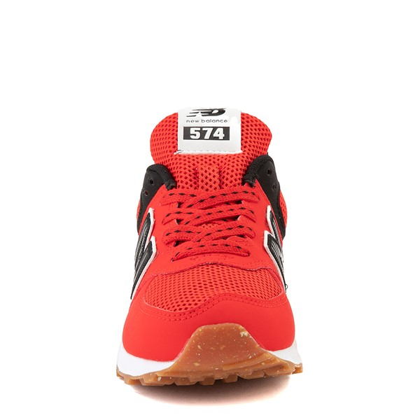 alternate view New Balance 574 Athletic Shoe - Little Kid - Red / BlackALT4