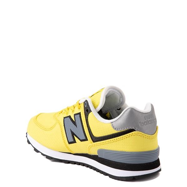 alternate view New Balance 574 Athletic Shoe - Little Kid - Yellow / SilverALT1B
