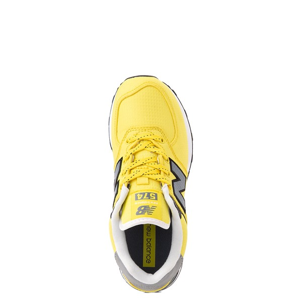 alternate view New Balance 574 Athletic Shoe - Little Kid - Yellow / SilverALT2