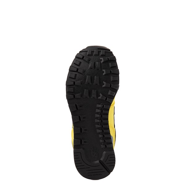 alternate view New Balance 574 Athletic Shoe - Little Kid - Yellow / SilverALT3