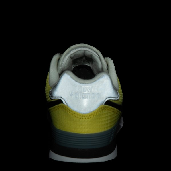 alternate view New Balance 574 Athletic Shoe - Little Kid - Yellow / SilverALT4