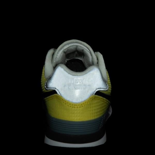 alternate view New Balance 574 Athletic Shoe - Little Kid - Yellow / SilverALT4