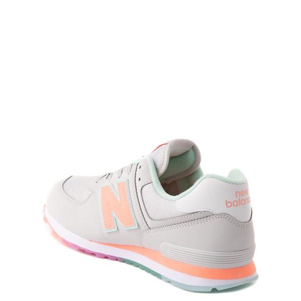 alternate view New Balance 574 Athletic Shoe - Little Kid - Gray / MulticolorALT1