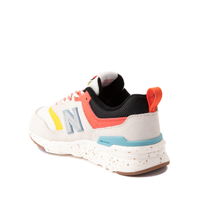 Alternate view of New Balance 997H Athletic Shoe - Little Kid - White / Multicolor
