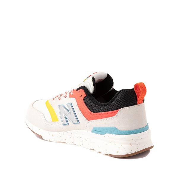 alternate view New Balance 997H Athletic Shoe - Big Kid - White / MulticolorALT1