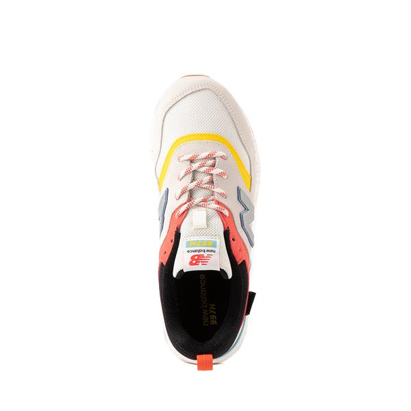 alternate view New Balance 997H Athletic Shoe - Big Kid - White / MulticolorALT2