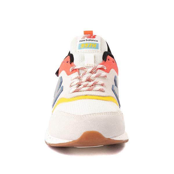 alternate view New Balance 997H Athletic Shoe - Big Kid - White / MulticolorALT4