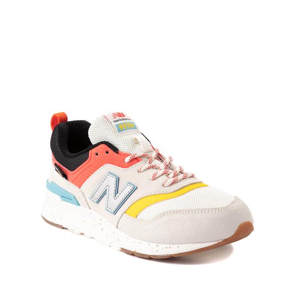 alternate view New Balance 997H Athletic Shoe - Big Kid - White / MulticolorALT5