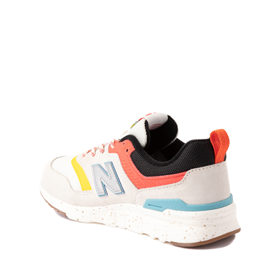 Alternate view of New Balance 997H Athletic Shoe - Big Kid - White / Multicolor