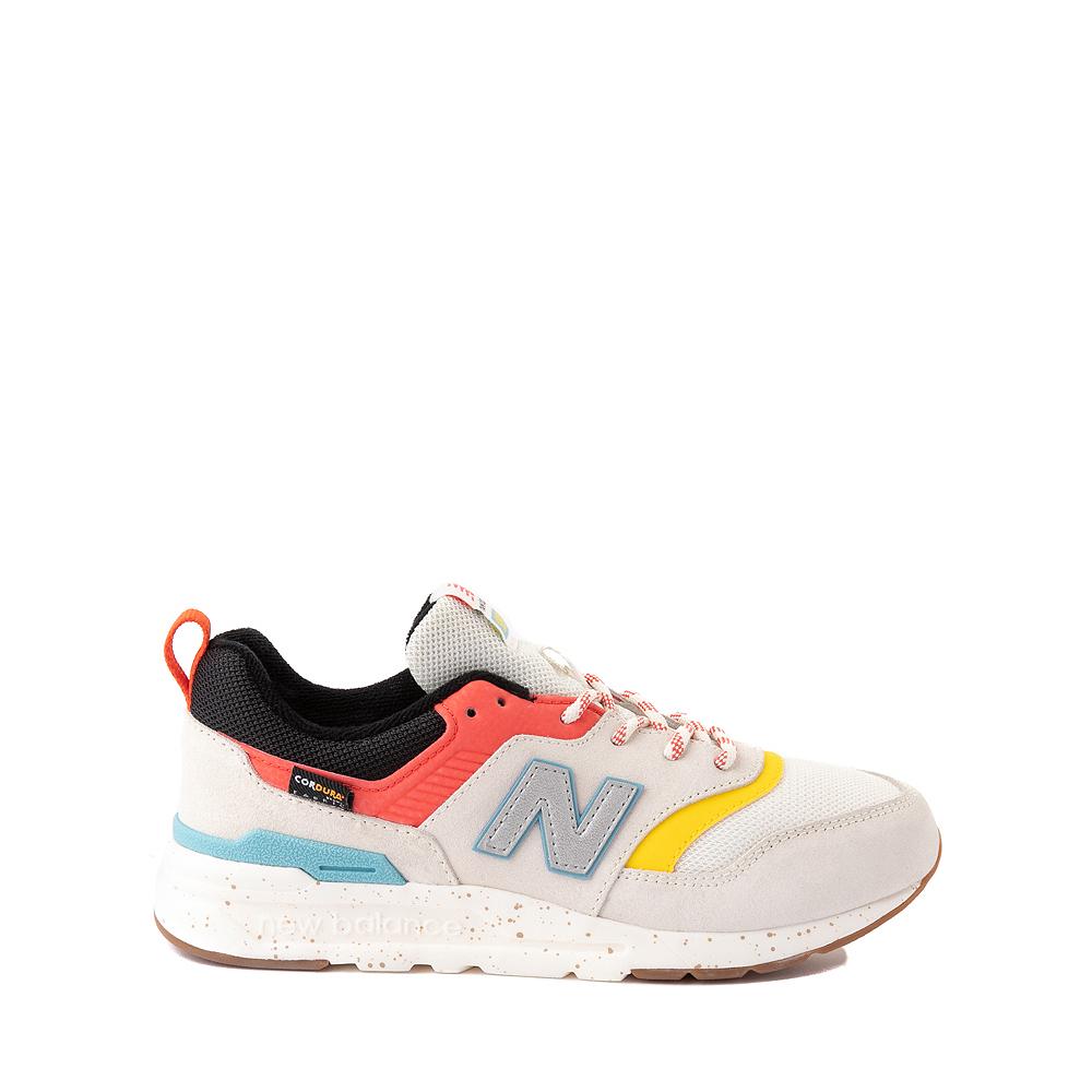 New Balance 997H Athletic Shoe - Big Kid - White / Multicolor