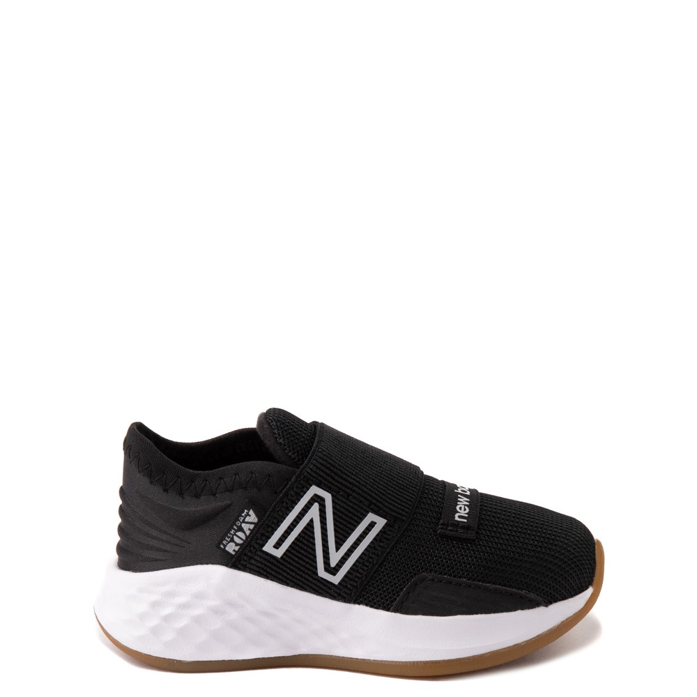 New Balance Fresh Foam Roav Slip On Athletic Shoe - Baby / Toddler - Black