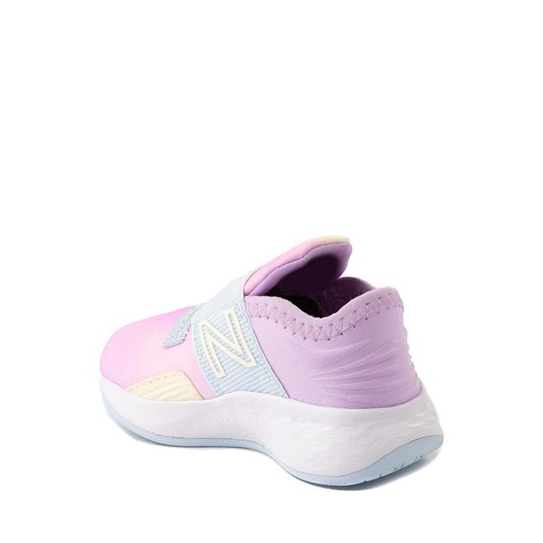 alternate view New Balance Fresh Foam Roav Slip On Athletic Shoe - Baby / Toddler - Tie DyeALT1