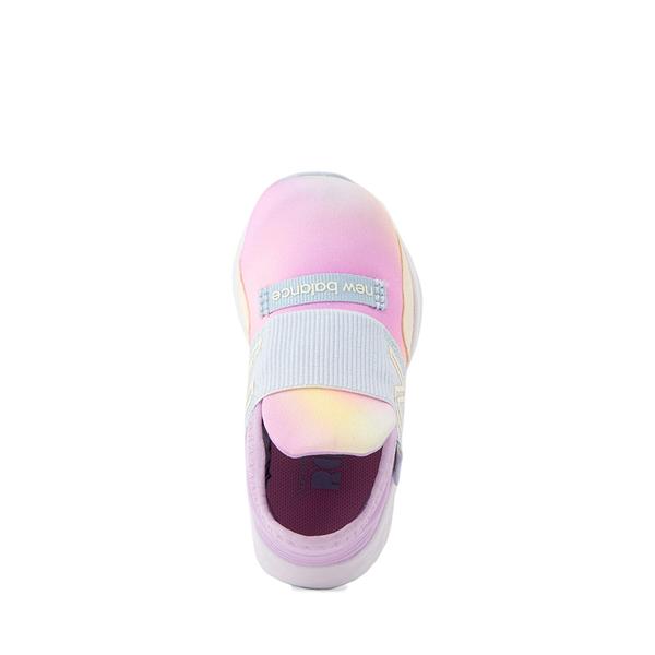 alternate view New Balance Fresh Foam Roav Slip On Athletic Shoe - Baby / Toddler - Tie DyeALT2
