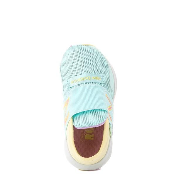 alternate view New Balance Fresh Foam Roav Slip On Athletic Shoe - Baby / Toddler - Mint / MulticolorALT4B