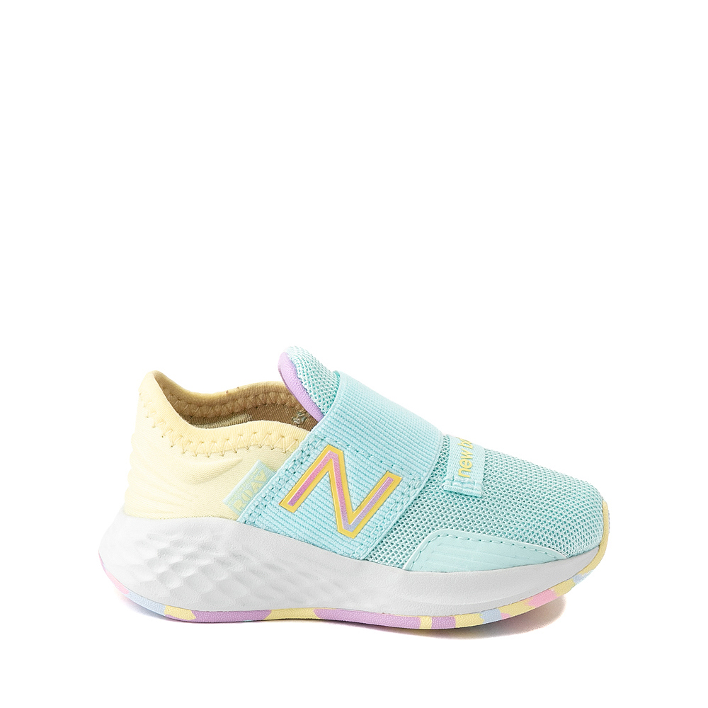 New Balance Fresh Foam Roav Slip On Athletic Shoe - Baby / Toddler - Mint / Multicolor