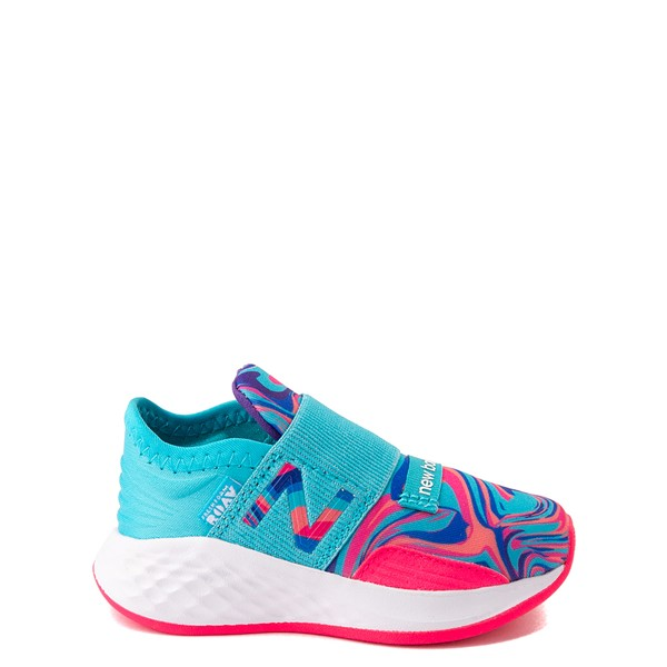 New Balance Fresh Foam Roav Slip On Athletic Shoe - Baby / Toddler - Aqua / Swirl