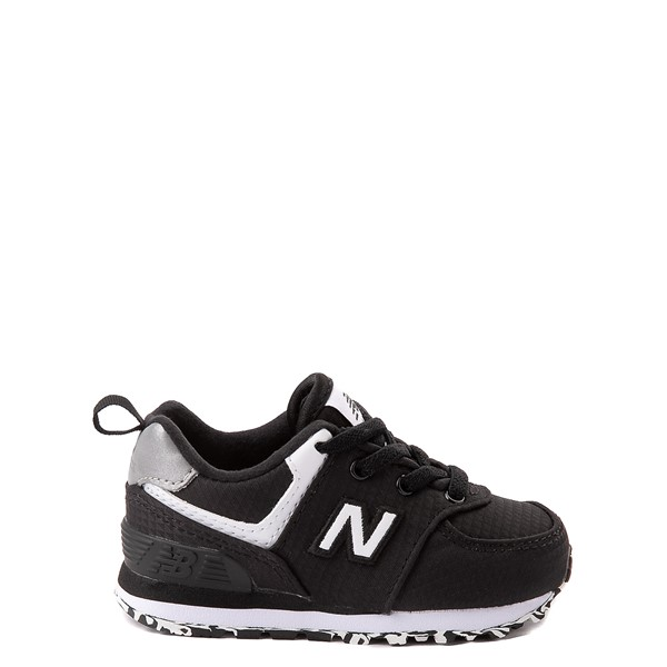Main view of New Balance 574 Athletic Shoe - Baby / Toddler - Black