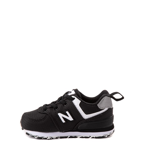 alternate view New Balance 574 Athletic Shoe - Baby / Toddler - BlackALT1