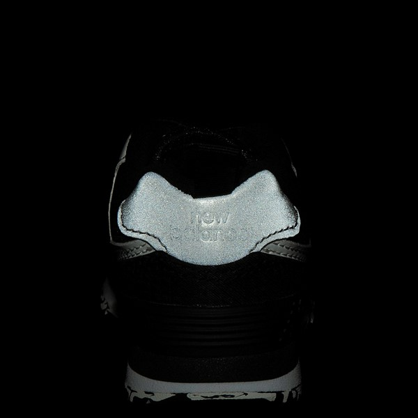 alternate view New Balance 574 Athletic Shoe - Baby / Toddler - BlackALT2C