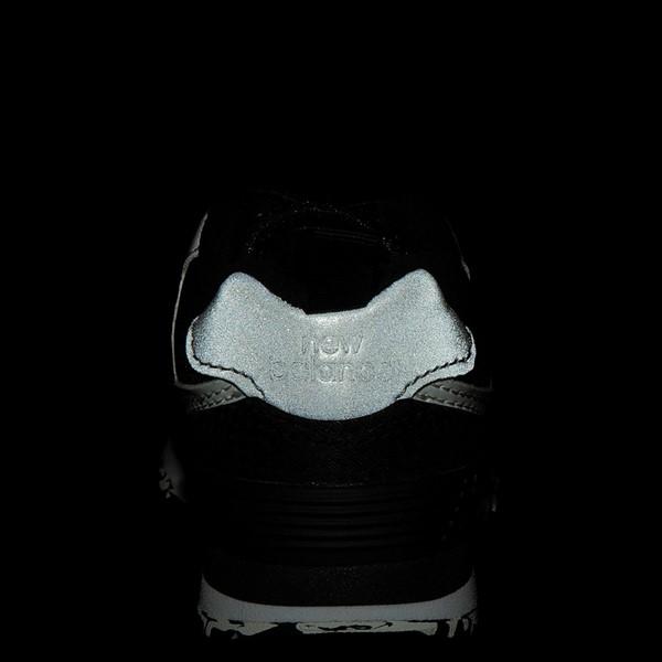 alternate view New Balance 574 Athletic Shoe - Baby / Toddler - BlackALT4C