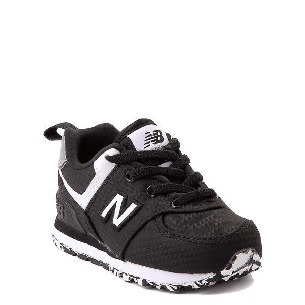 alternate view New Balance 574 Athletic Shoe - Baby / Toddler - BlackALT5
