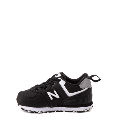 Alternate view of New Balance 574 Athletic Shoe - Baby / Toddler - Black