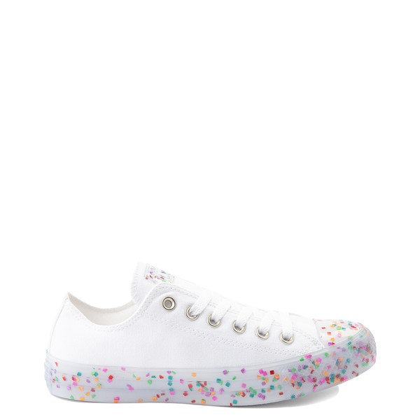 Converse Chuck Taylor All Star Lo Stuff Inside Sneaker - White / Multicolor