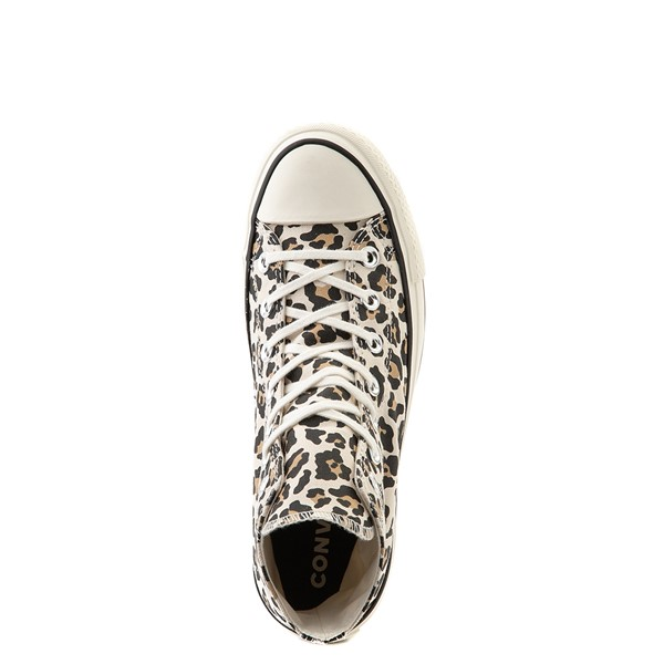 alternate view Womens Converse Chuck Taylor All Star Hi Lugged Sneaker - LeopardALT4B