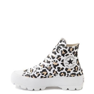 Alternate view of Womens Converse Chuck Taylor All Star Hi Lugged Sneaker - Leopard