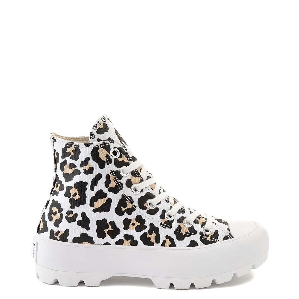 Womens Converse Chuck Taylor All Star Hi Lugged Sneaker - Leopard