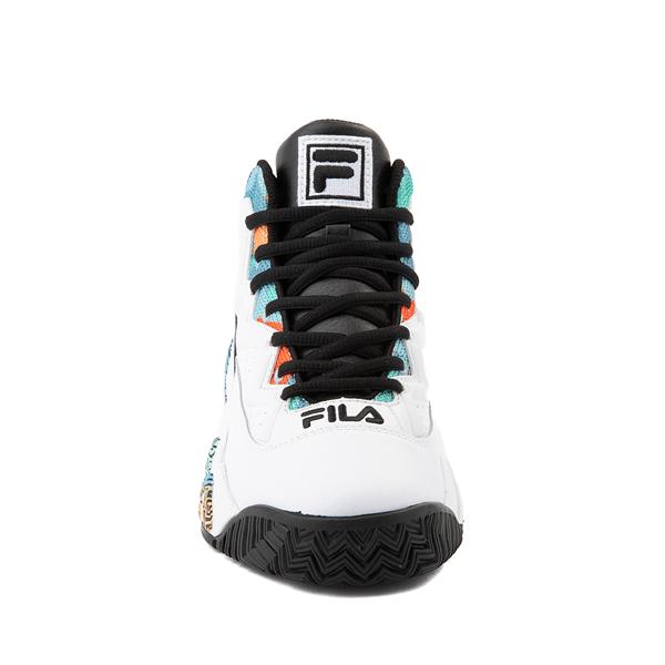 alternate view Fila MB '90s Athletic Shoe - Big Kid - White / MulticolorALT4