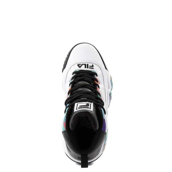 alternate view Fila MB '90s Athletic Shoe - Big Kid - White / MulticolorALT4B