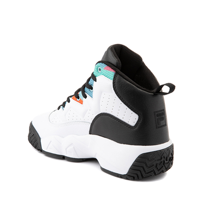 Alternate view of Fila MB '90s Athletic Shoe - Big Kid - White / Multicolor