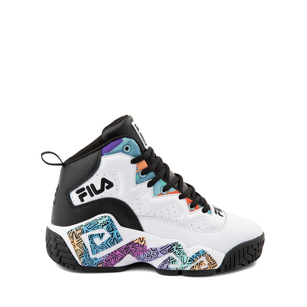 Fila MB '90s Athletic Shoe - Big Kid - White / Multicolor