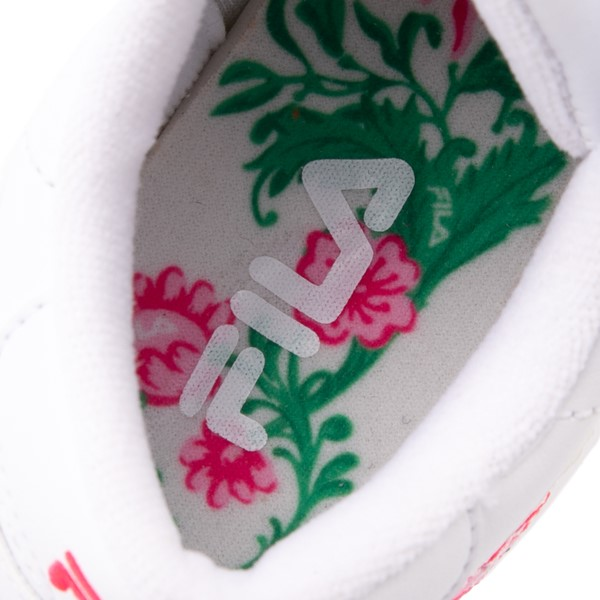 alternate view Fila Orbit Floral Athletic Shoe - Big Kid - WhiteALT2B