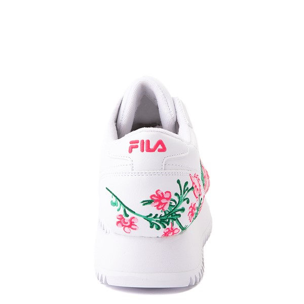 alternate view Fila Orbit Floral Athletic Shoe - Big Kid - WhiteALT4