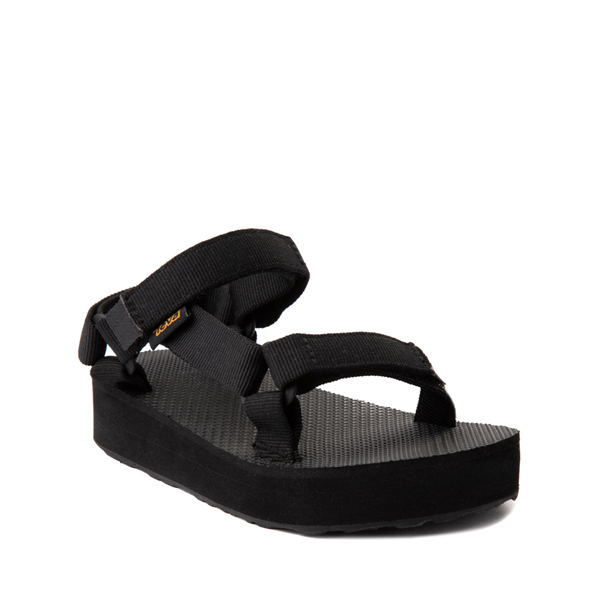 alternate view Teva Universal Midform Sandal - Little Kid / Big Kid - BlackALT5