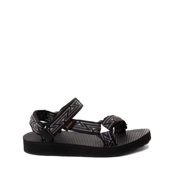 Main view of Teva Original Universal Sandal - Little Kid / Big Kid - Atlas Black / Greige