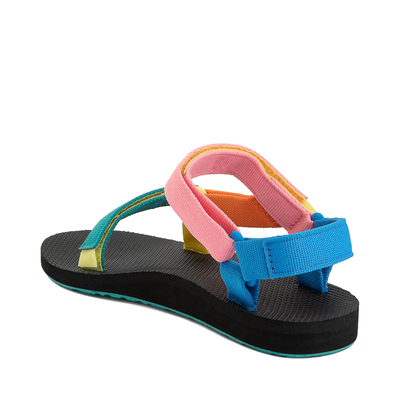 Alternate view of Teva Original Universal Sandal - Little Kid / Big Kid - Black / '90s Color-Block